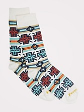Pueblo Cross Crew Socks