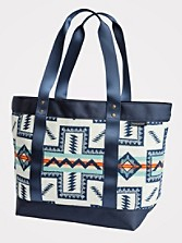 Pueblo Cross Zip Tote