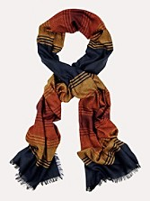 Grand Canyon Stripe Wool Scarf