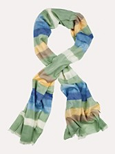 Rocky Mountain Stripe Wool Scarf
