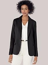 Seasonless Wool One-button Blazer