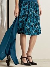 Silk Sweetheart Skirt