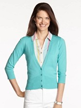 Three-quarter Sleeve Can-do Cardigan