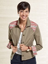 Silver Creek Trimmed Jacket