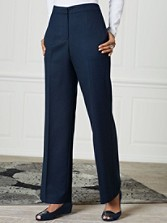 Seasonless Wool Park Avenue Pants