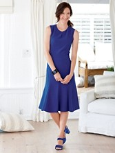 Travel Tricotine All-day Dress