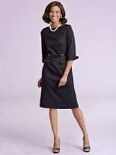 Seasonless Wool Park Avenue Dress