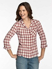 Hallie Plaid Shirt