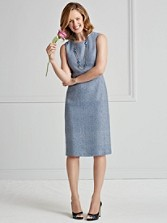 Eleanor Tweed Dress