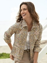 Pacifica Paisley Jacket