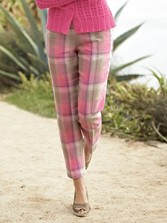 Palisades Plaid Crops