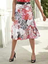 Tonya Silk Skirt