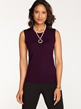 Mariana Merino Sleeveless Shell