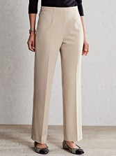 Side-zip Pants