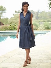 Summit Denim Dress