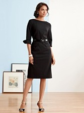 Ultra 9 Stretch Wool Park Avenue Dress