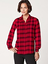 Buffalo Plaid Blouse