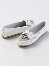 Beaded Kilty Moccasins
