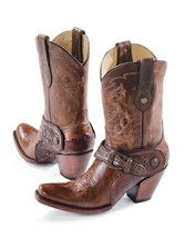 Saltillo Golden Harness Boots