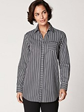Sateen Stripe Tunic