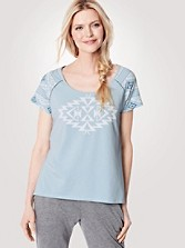 Raglan High-low Top