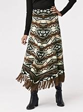 Azteca Blanket Skirt