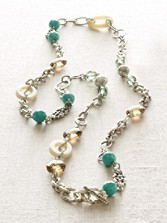 Pearls And Beads Necklace