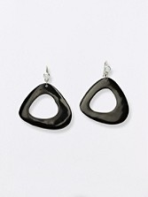 Water Buffalo Horn Earrings