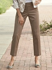 Slim Stretch Ankle Pants
