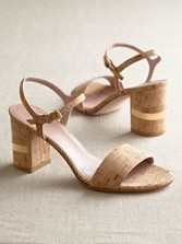 Natural Cork Solo Sandals
