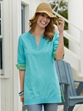 Reversible Cotton Tunic