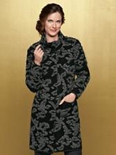Textured Swirl Coat