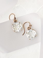 Vintage Rock Crystal Earrings