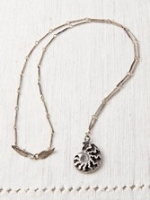 Ammonite Shell Necklace