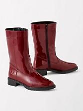 Mid-calf Zip Rain Boots