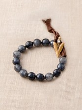 Jade/arrowhead Bracelet