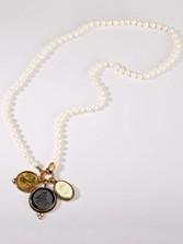 Pearl Intaglio Necklace