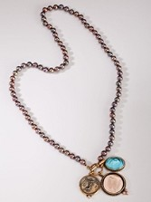 Pearl Intaglio Necklace