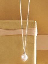 Wrapped Pearl Necklace