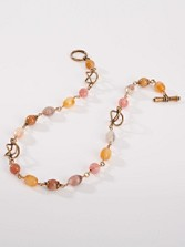 Rose Carnelian Necklace