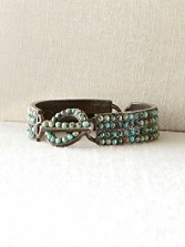 African Turquoise Toggle Bracelet