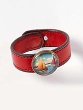 Rosette Slide Bracelet
