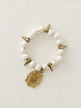 White Turquoise Stretch Bracelet