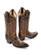 Bronze Studded Boots