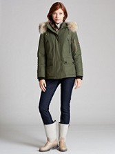 Pendleton Signature Parka With Fur Trim