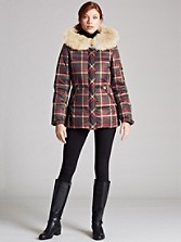 Pendleton Signature Plaid Down Parka