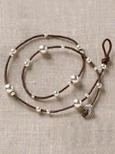 Linen Wrap Bracelet