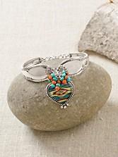 Serape Heart Bracelet