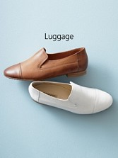 Handcrafted Vince Leather Flats