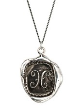 Initial Talisman Necklace